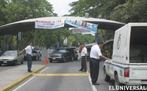 El operativo de control de accesos en la Ciudad Universitaria será perramente FERNANDO SÁNCHEZ/ARCHIVO