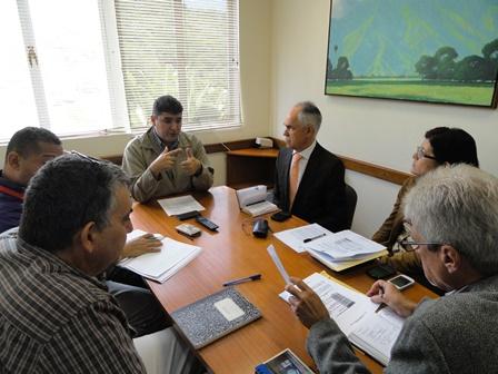 Reunion con Viceministro educacion Universitaria