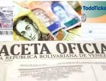 Ajuste de incremento salarial y Bono Alimentación no ha sido publicado en Gaceta Oficial