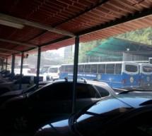 Continúan retenidos vehículos de las autoridades de la UCV en Transporte
