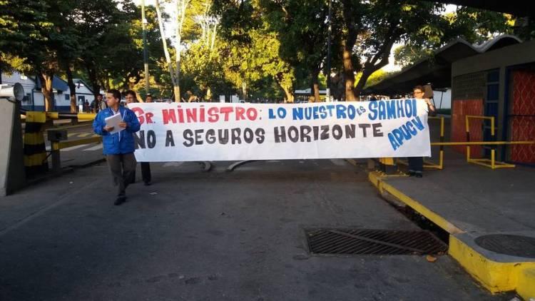 Protesta APUCV por HCM