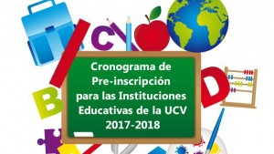 Pre-inscripcion Instituciones educativas