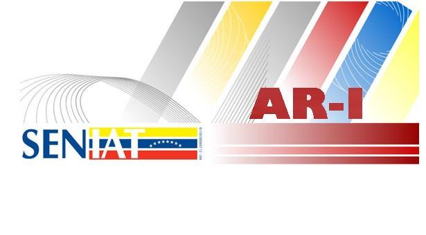 Información sobre la presentación del Formulario AR-I. 1ra. Variación Año 2020