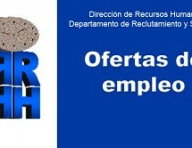 RRHH publica ofertas de empleo a nivel universitario