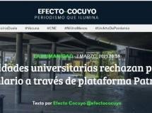 Autoridades universitarias rechazan pago de salario a través de plataforma Patria